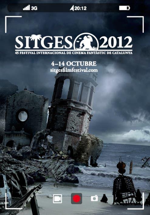 Cartel del Festival de Cine fantástico de Sitges 2012
