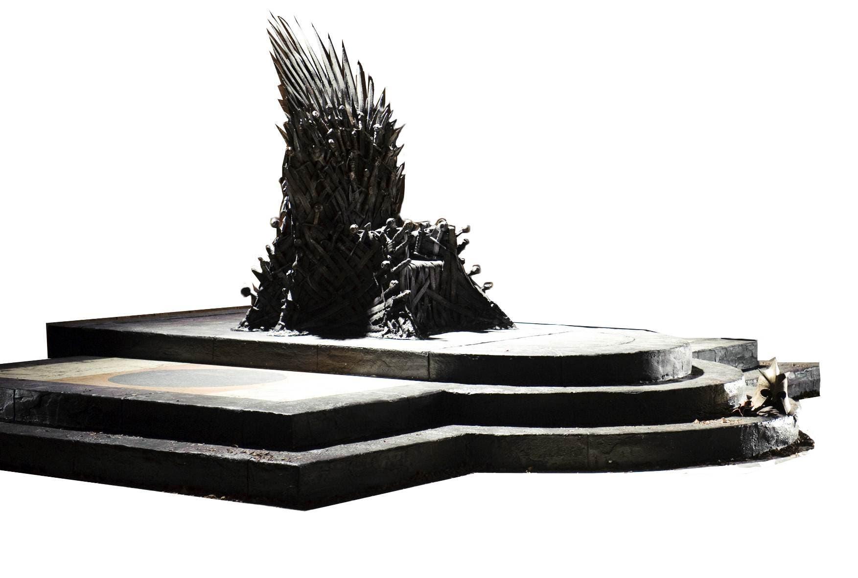 El trono de Hierro Juego de Tronos