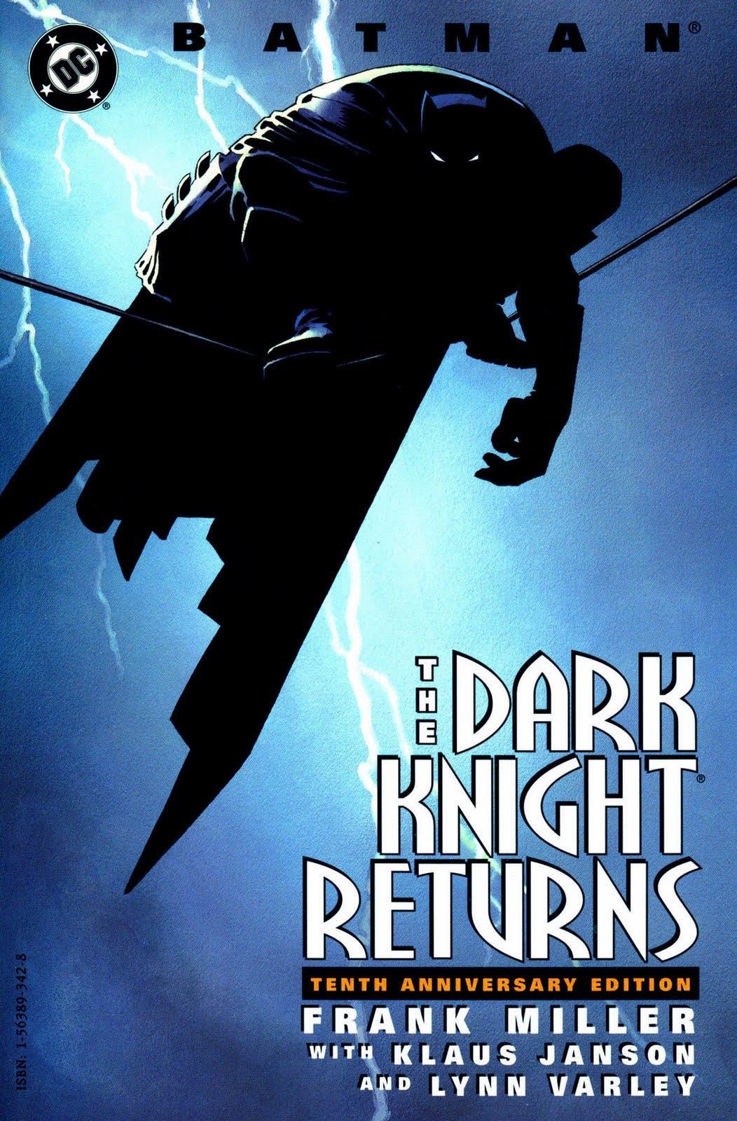 Portada de 'El regreso del Caballero Oscuro' de Frank Miller