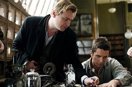 Christopher Nolan y Christian Bale