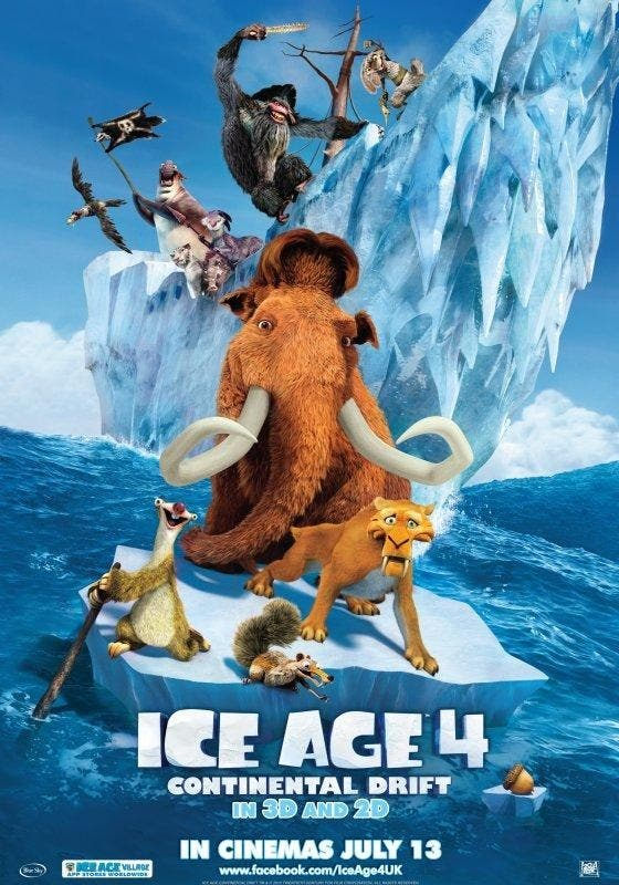 Poster de Ice Age 4