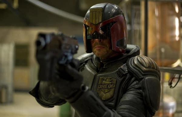 Karl Urban Juez Dredd en Dredd 3D