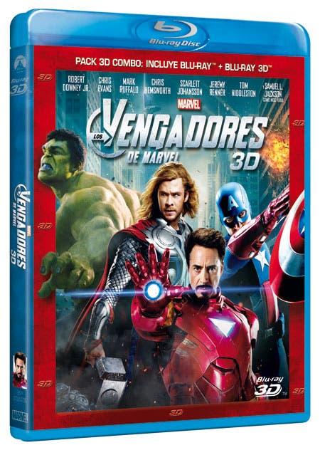 Los Vengadores 3D
