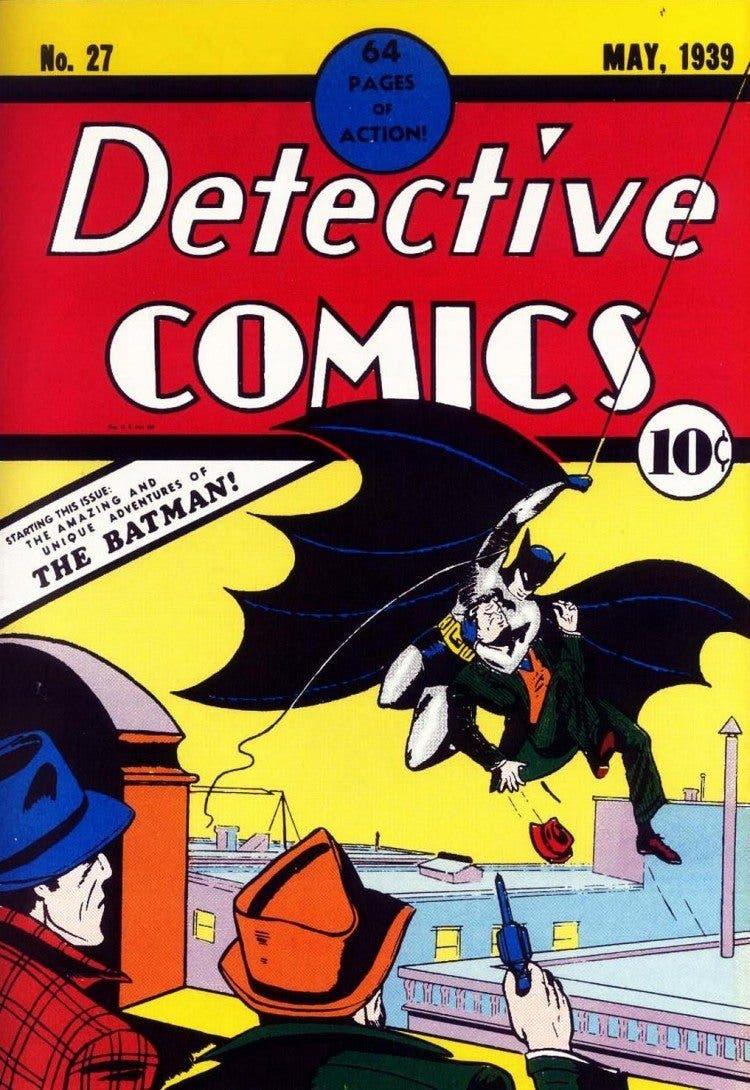 Portada N27 Detective Comics