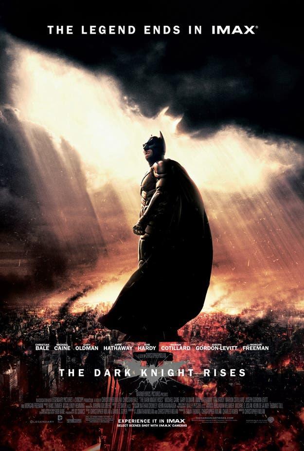 El caballero oscuro la leyenda renace IMAX