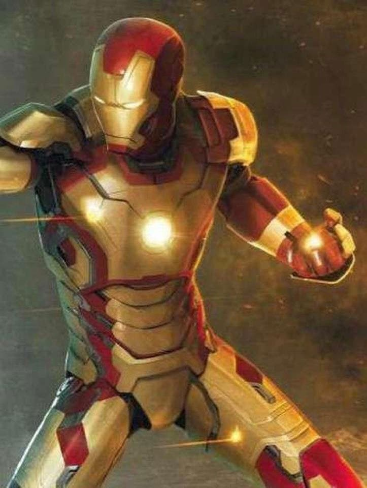 concept art de Iron Man 3