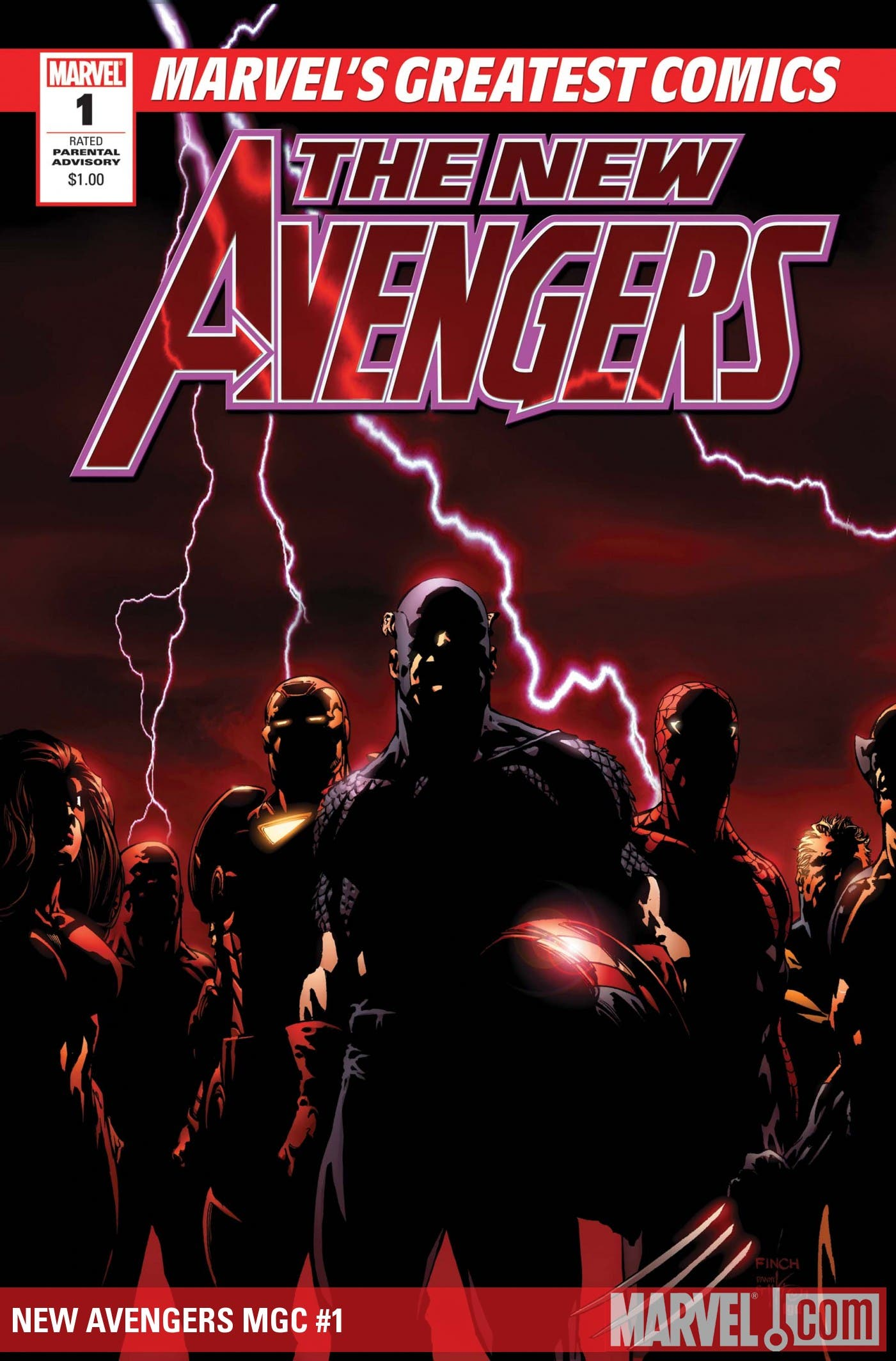 cover n1 The New Avengers