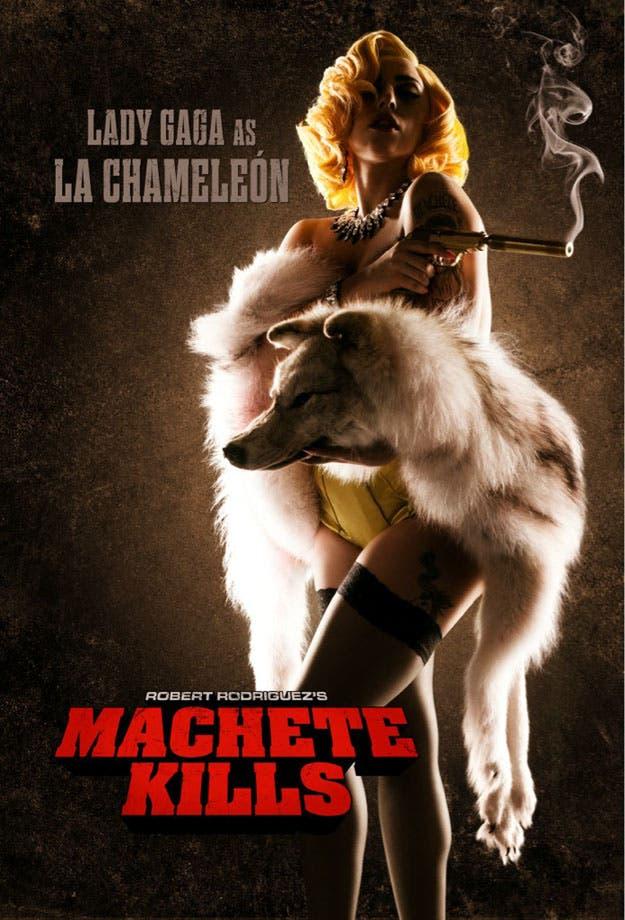 Lady Gaga es La Chamaleón en Machete Kills