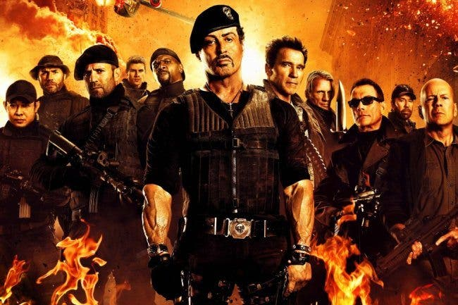 Los mercenarios BOX OFFICE USA