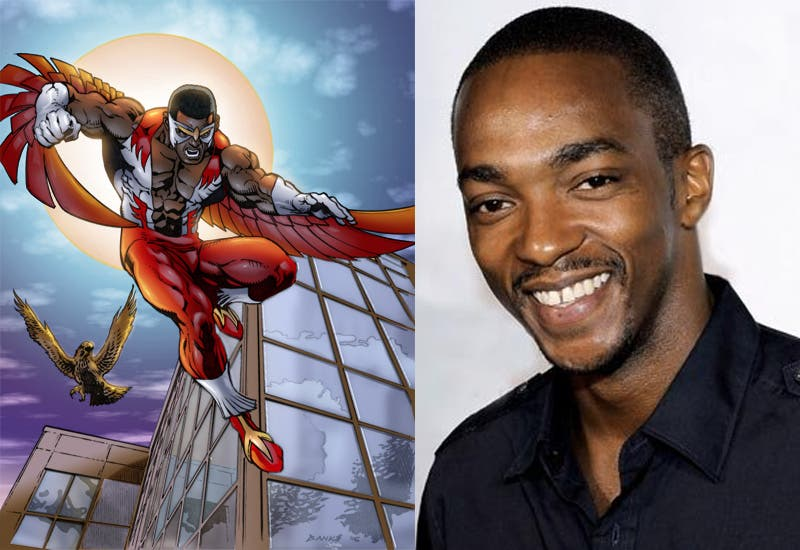 The Falcon Anthony Mackie