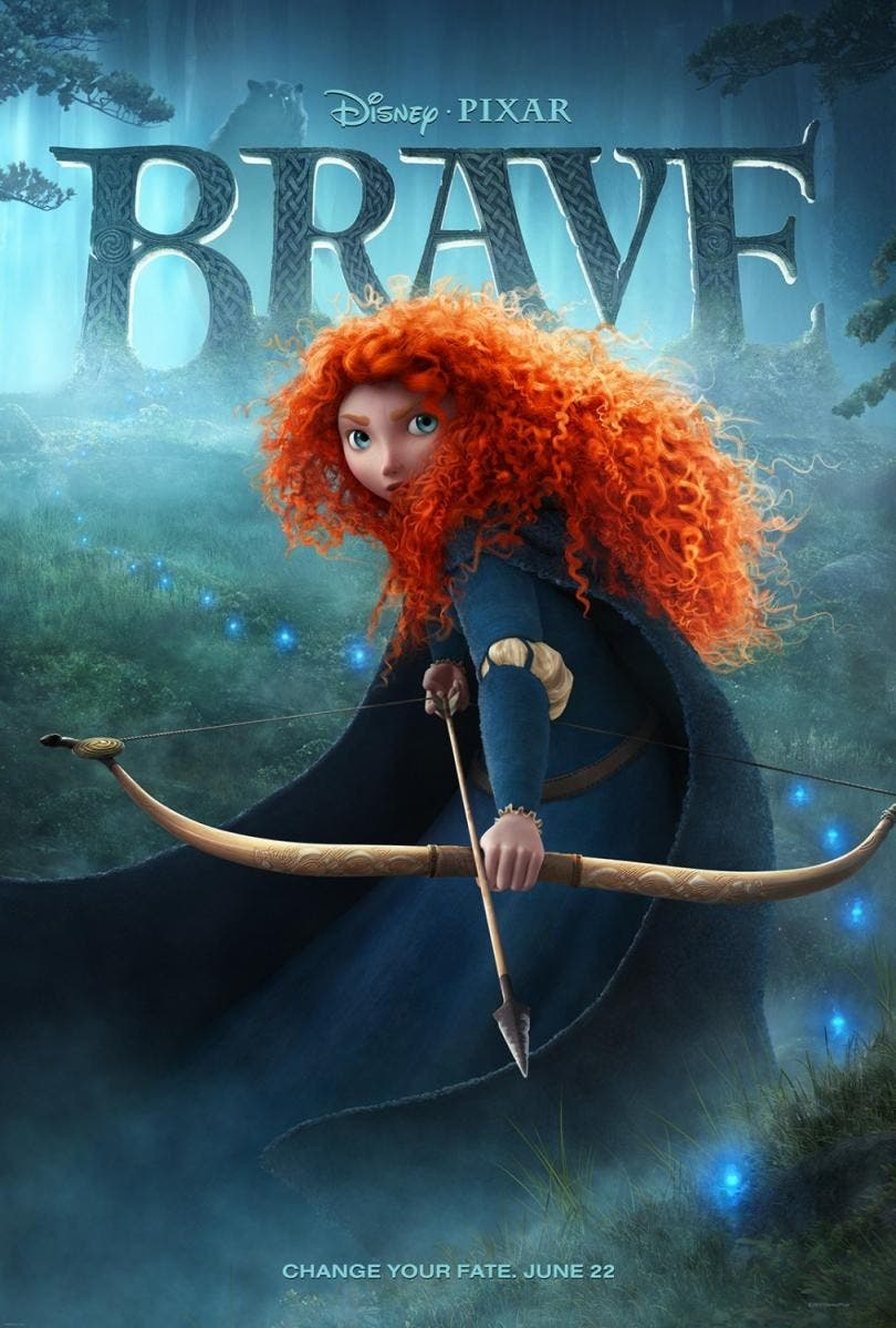 Poster de Brave (Indomable)