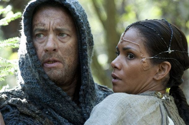 Tom Hanks junto a Halle Berry en CLOUD ATLAS