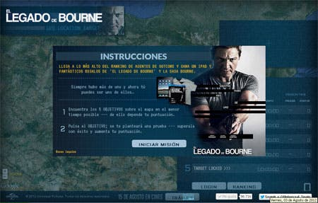 El-legado-de-bourne-game