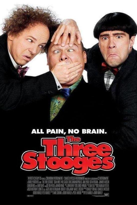 Poster de Los tres chiflados