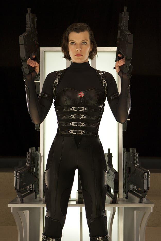 Milla Jovovich es Alice