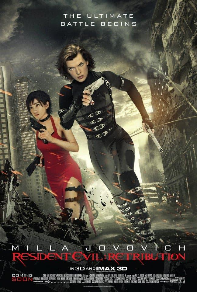 Alice & Ada Wong protagonizan el nuevo póster de RESIDENT EVIL: VENGANZA