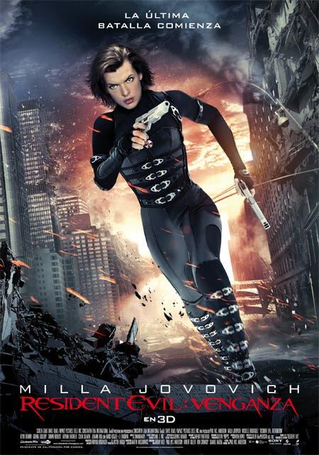 Resident Evil Venganza Cartel Final Milla Jovovich Corriendo