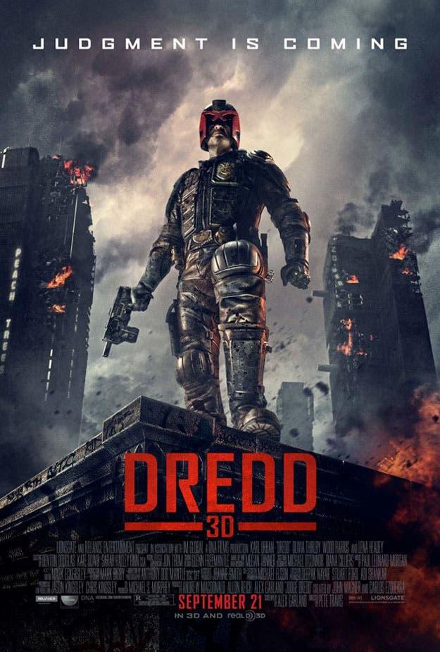Poster final de Dredd 3D