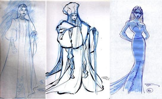 Concept art de Frozen