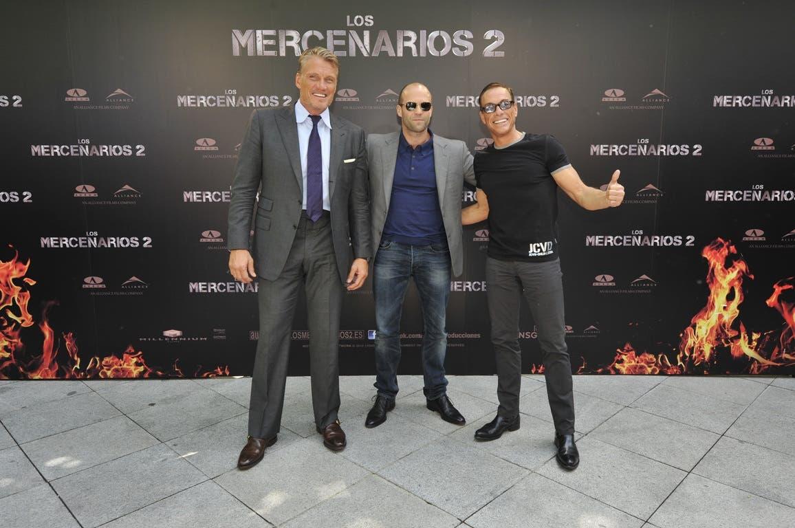 Presentación en Madrid de Mercenarios 2