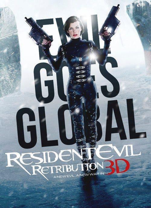 Nuevo poster de resident evil retirbution