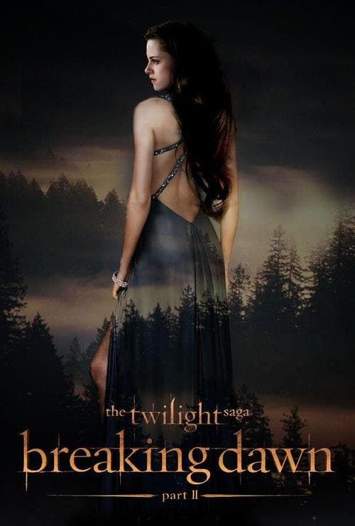 Poster de La saga Crepúsculo: Amanecer - Parte 2