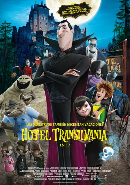 Póster final de Hotel Transilvania