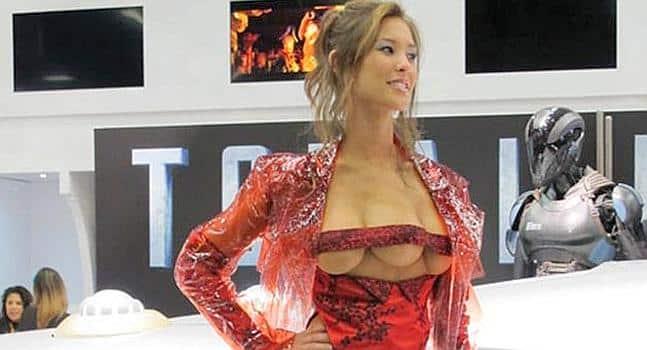La mujer de tres pechos de TOTAL RECALL (DESAFÍO TOTAL) estará en Madrid
