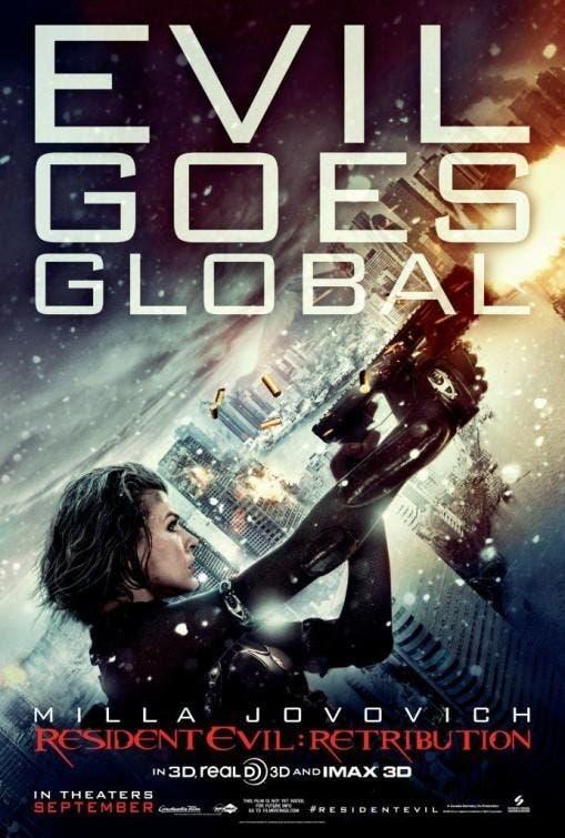 Poster de Resident Evil 5: Venganza