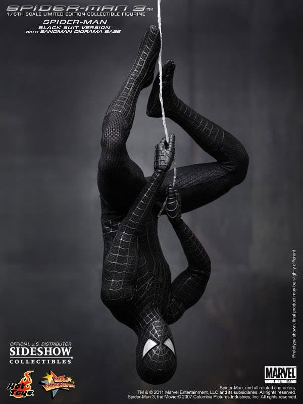 Spider-man black
