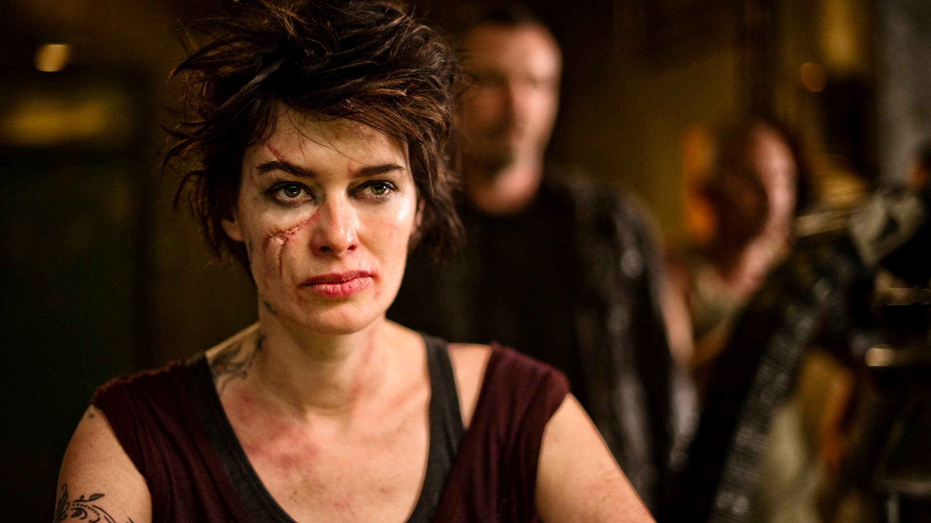 Lena Headey es mamá en el Judge Dredd