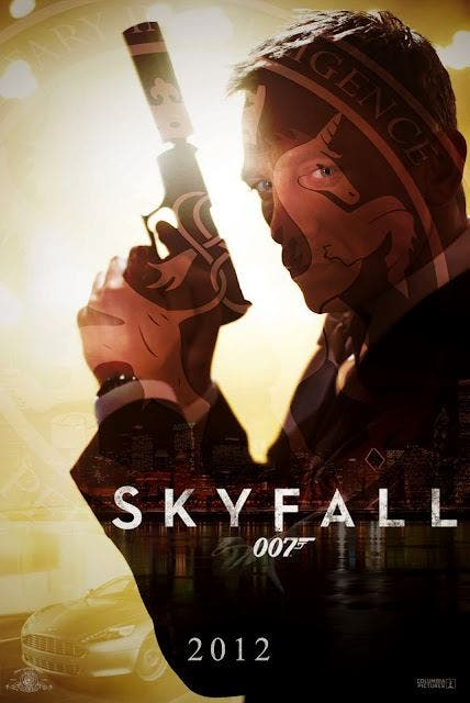 new poster 23 james bond Skyfall