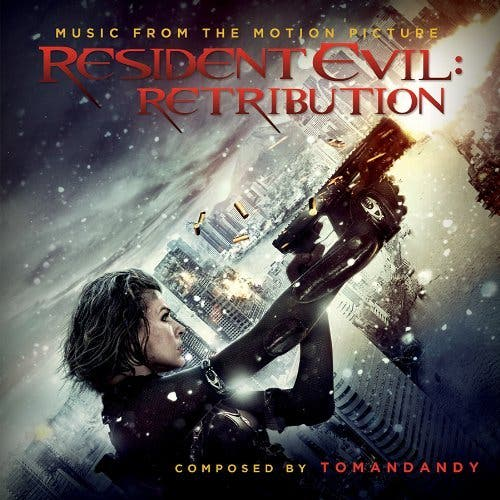 COVER BSO Resident Evil Retribution