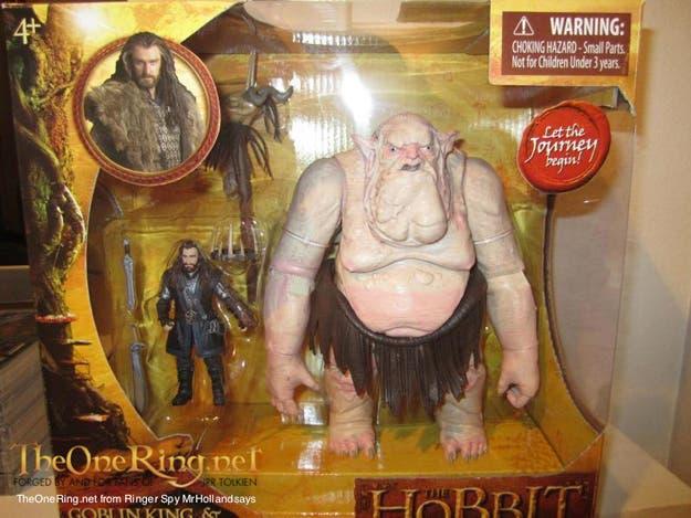 Rey Trasgo en el Hobbit