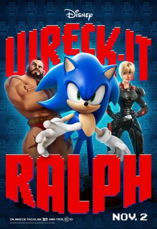 Sonic en ¡ROMPE RALPH!
