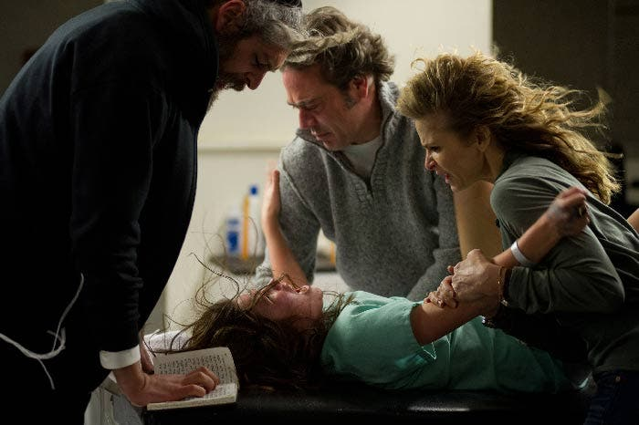 The possession con Jeffrey Dean Morgan y Kyra Sedgwick
