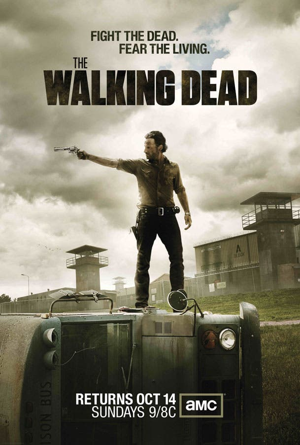 Poster 3ª temporada de The Walking Dead