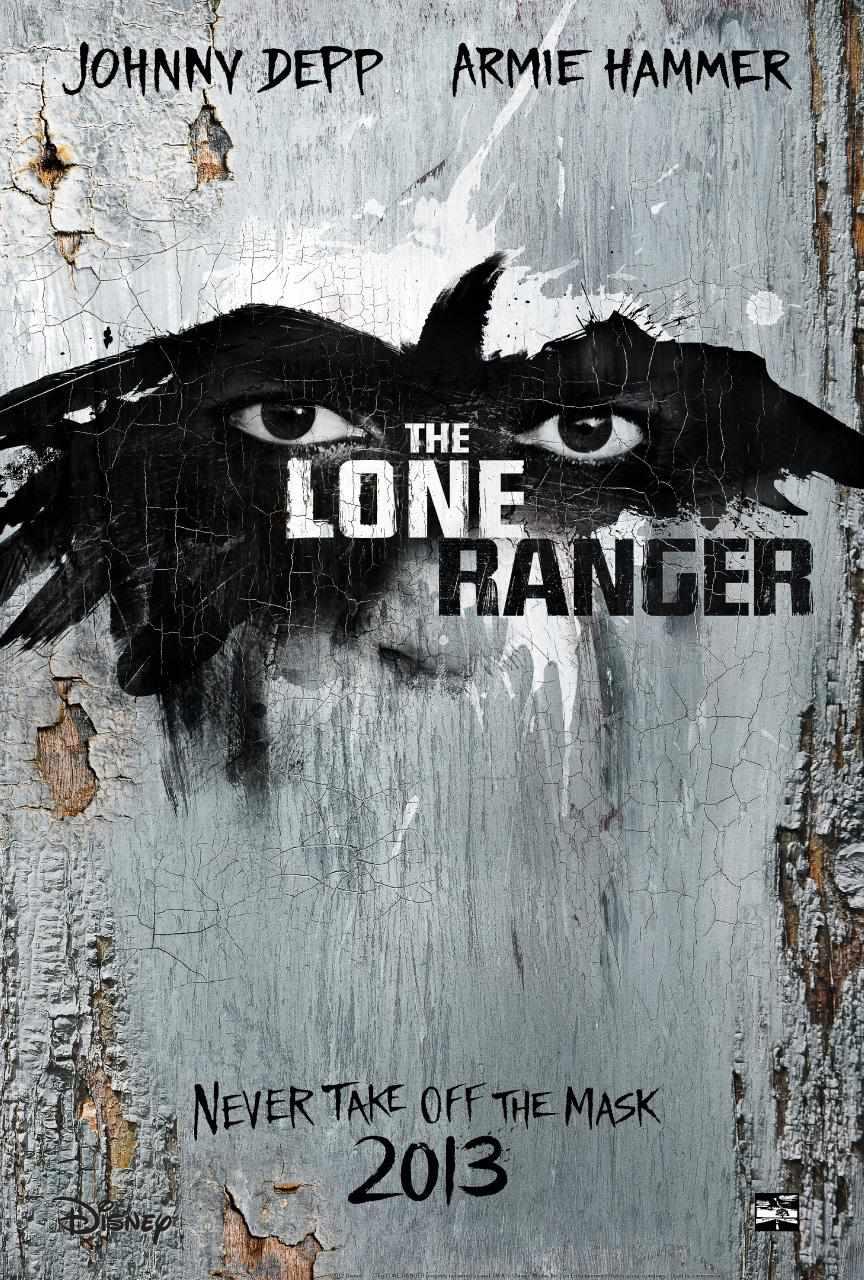 The Lone Ranger teaser poster
