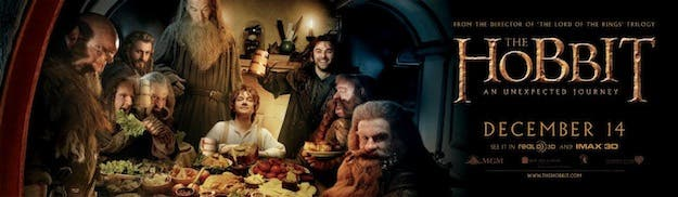 Banner The Hobbit: An Unexpected Journey