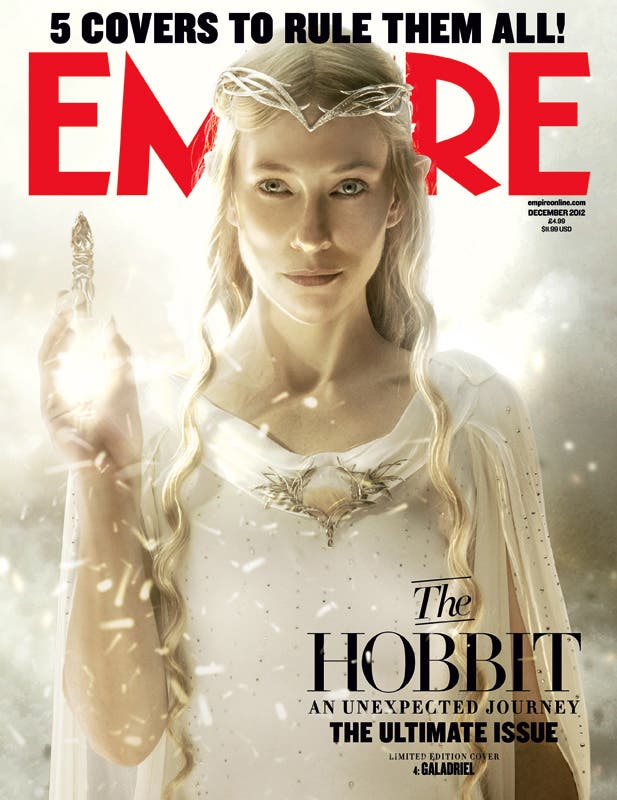 Portada revista EMPIRE El hobbit
