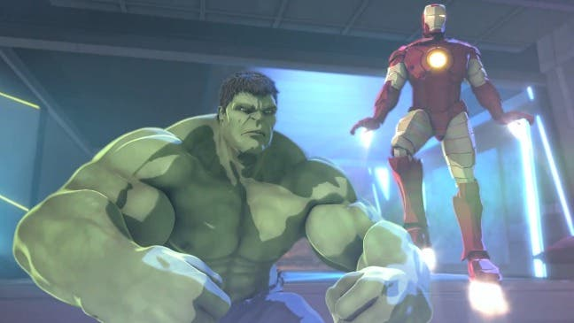 Marvel IRON MAN & HULK: Heroes united
