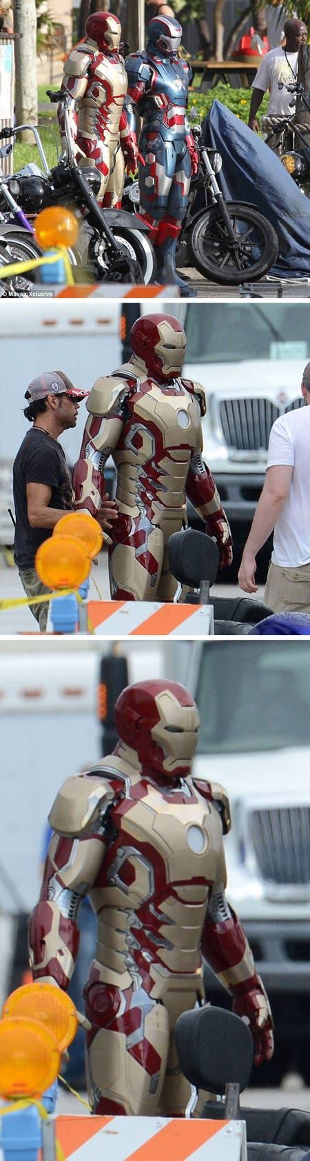 Imágenes del rodaje de Iron Man 3