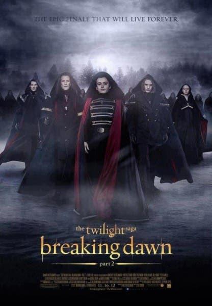 Nuevo poster de Amanecer parte 2. Los Volturi