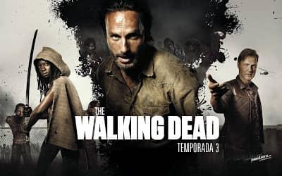 the walking dead temporada 3