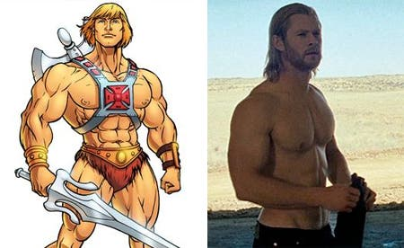Chris Hemsworth-He Man