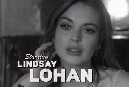 Lindsay Lohan en The Canyons