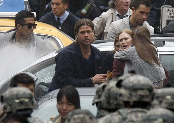 Brad Pitt en World War Z