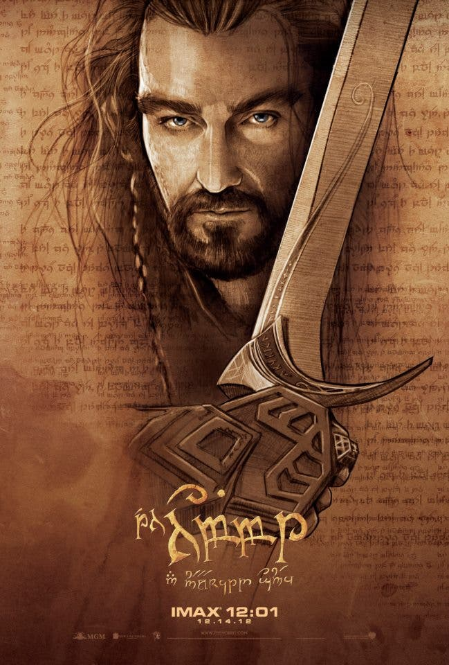 hobbit-unexpected-journey-imax-poster-richard-armitage