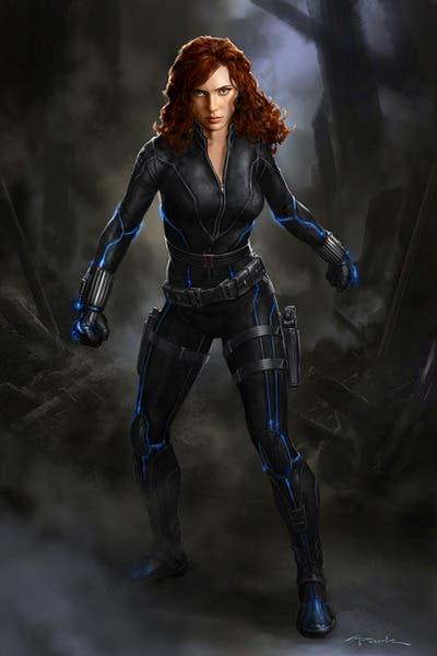 Scarlett Johansson por Andy Park