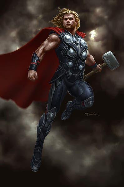 Thor en Los Vengadores